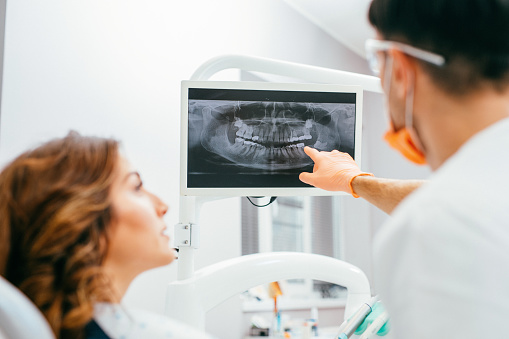 Digital x-ray at Lanier Valley Dentistry